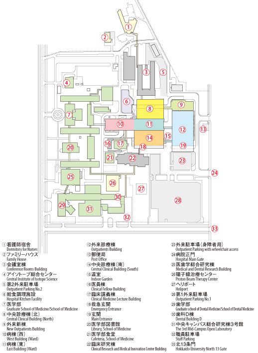 Building layout plan | Hokkaido